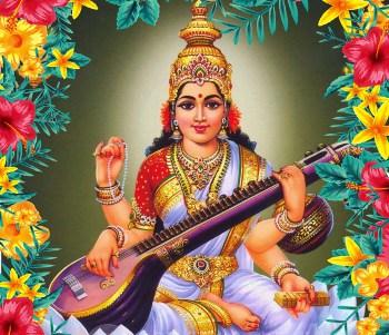 Saraswati Ashtottara shatanamavali